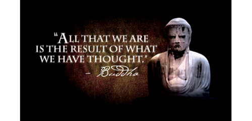 Buddha Said :All that we are is the result of what we havethought!